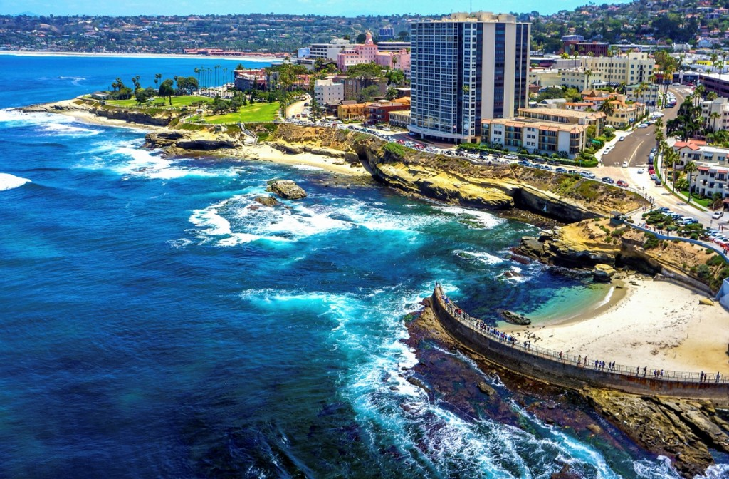 """The Village of La Jolla, often simply referred to as """"the Village"""", is located along Prospect Street in the downtown area of La Jolla. Made up of numerous shops, restaurants, and of course, La Jolla Cove, guests of our hotel near La Jolla Village can enjoy world-class shopping."""